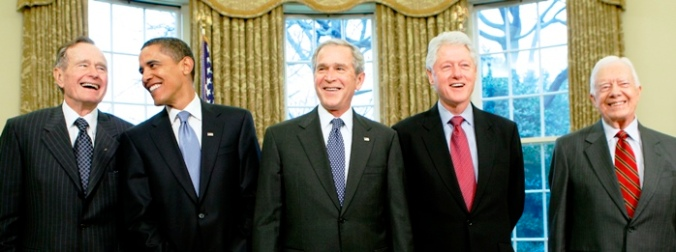 Living-US-Presidents.Reuters-1