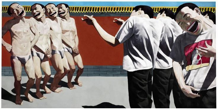 Yue-Minjun-Execution-1995.-Image-via-Wikipedia